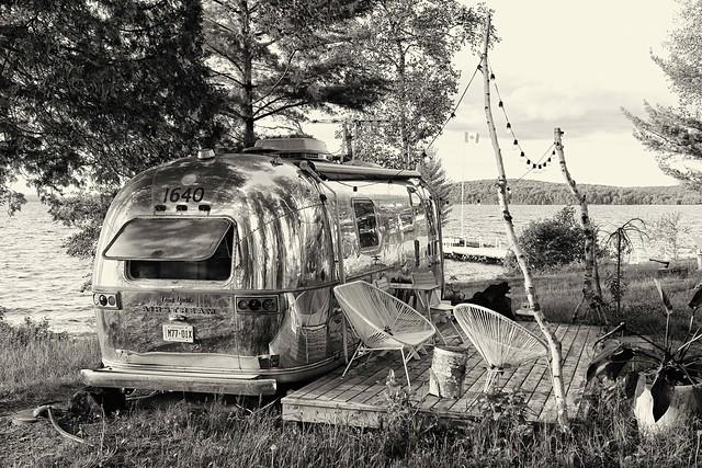 Air Stream Cottage on Ontario Lake