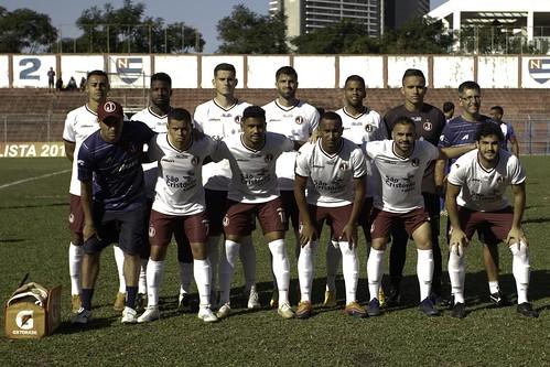 (Em Pé) Tiaguinho,Alê,Robson,Diego sacomam,Paulo Henrique,Rafael Viana e Marcio