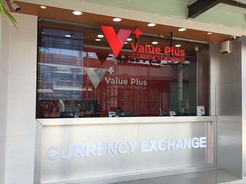 good rate exchange booth opened koh samui. レートの良い両替所 チャウエン コサムイ