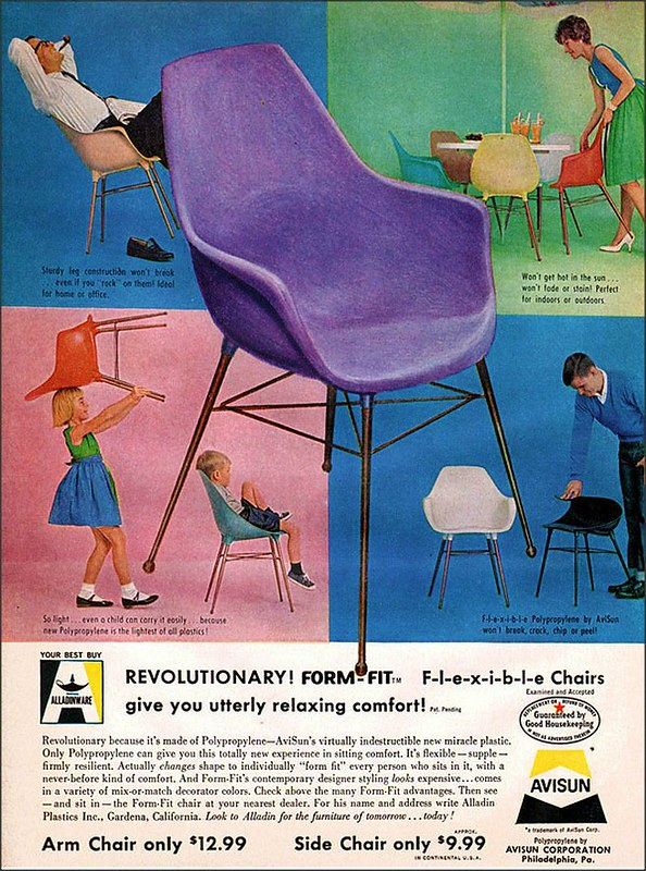 Alladinware, Avisun Flexible Chairs 1961