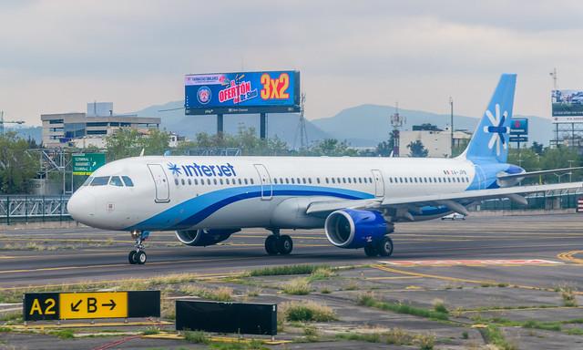 Interjet A321 (MEX)