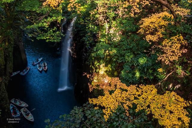 Fall Colour - Takachiho Gorge, Kagoshima, Kyushu, Japan (秋天的颜色 - 日本, ,九州,鹿儿岛, 高千穗峡谷)
