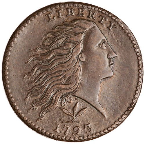 Smith of Ann Street re-Engraved 1793 Large Cent