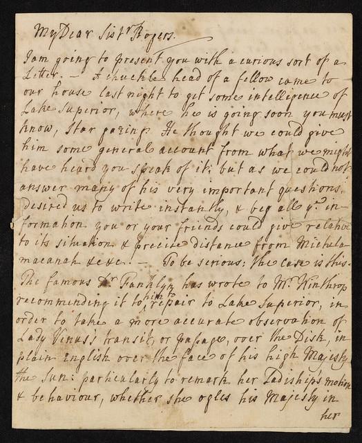 Serjeant Family Letters, 1769-1840