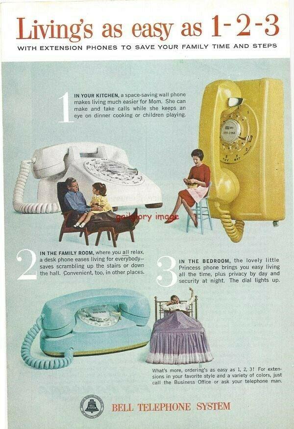 Bell Telephone System 1963