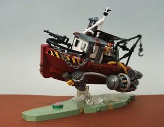 Cyberpunk 2046: Hunting for Scraps