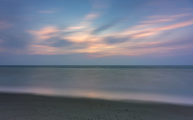 *summer evening at the sea @ long exposure*