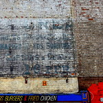 Newly uncovered ghostsign in Preston
