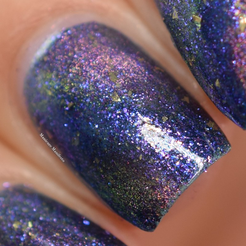 Girly Bits Galactic Haze swatch