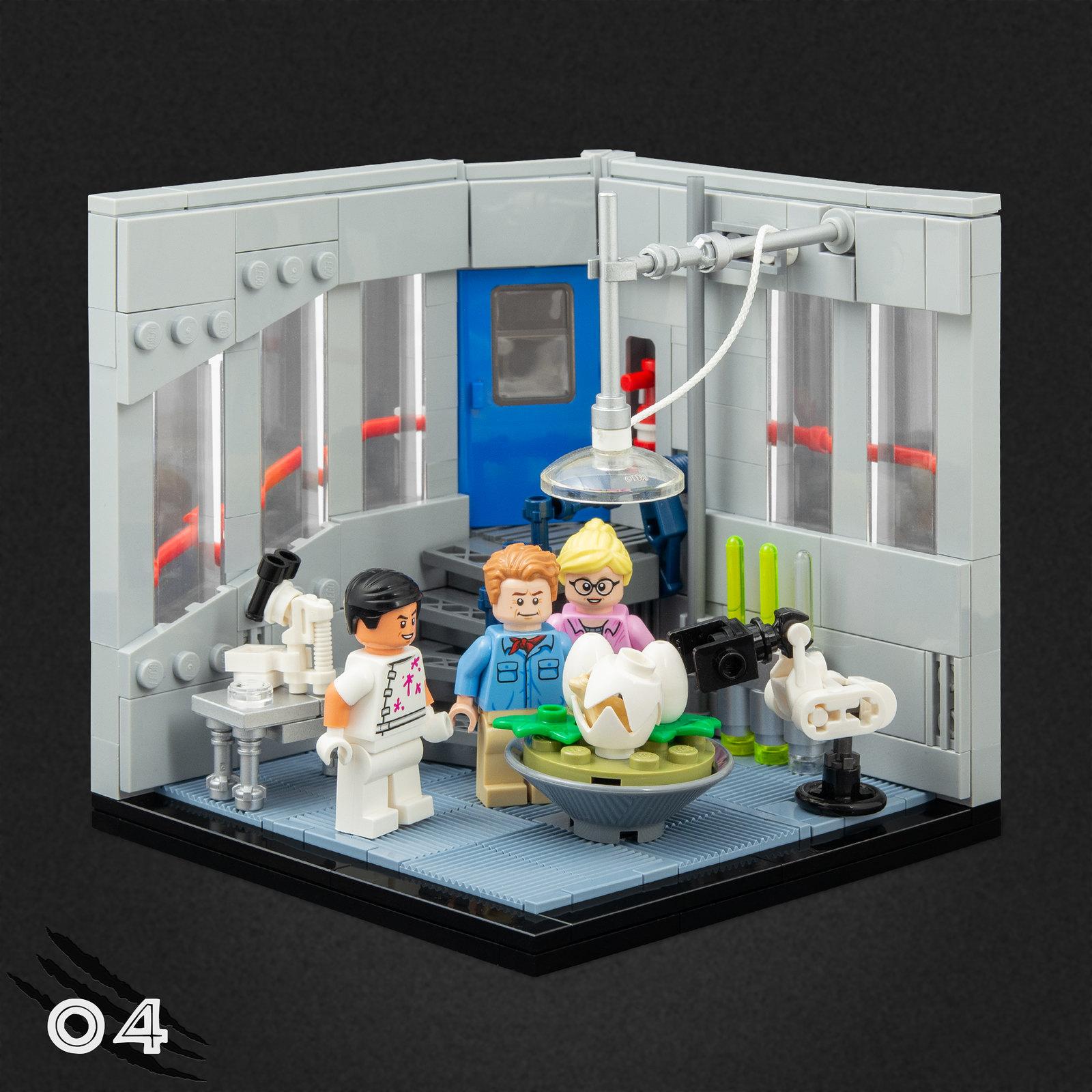 04 - Isla Nublar Laboratory