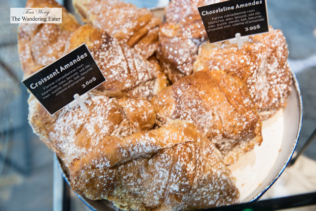Viennoiserie - Chocolate almond croissants