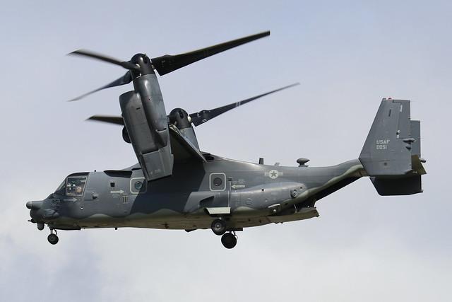 08-0051  -  Boeing Vertol V-22 Osprey  -  United States Air Force  -  RIAT 2019 20/7/19