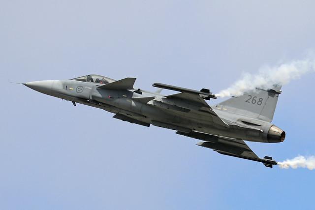 39268/268  -  SAAB JAS-39C Gripen  -  Swedish Air Force  -  RIAT 2019 20/7/19