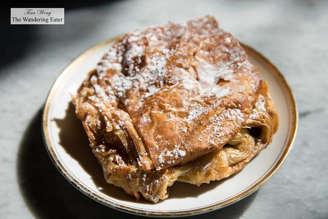 Chocoalte almond croissant