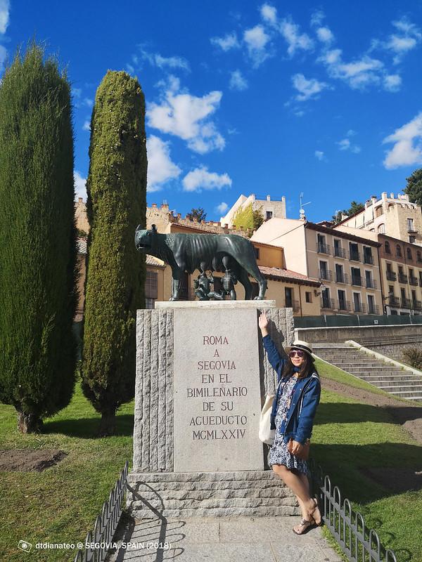 2018 Spain Segovia Capitoline Wolf