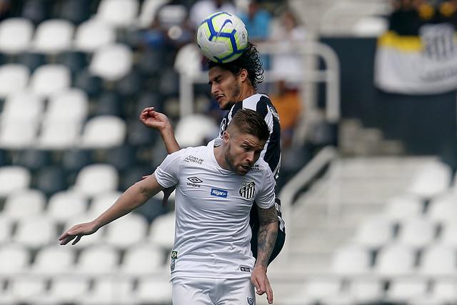 Botafogo 0 x 1 Santos - 21/07/2019
