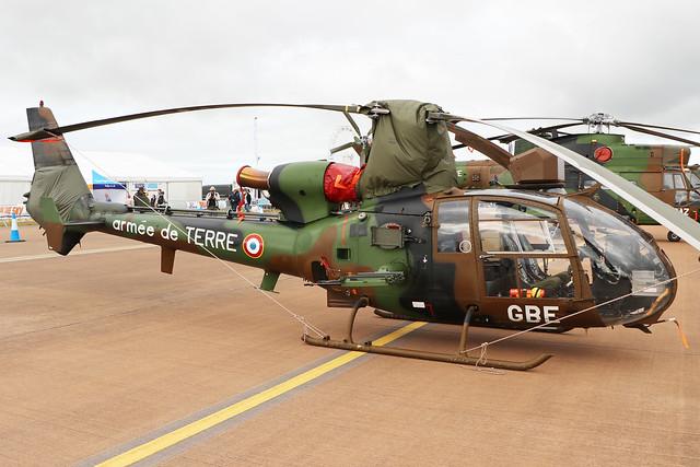 Aerospatiale SA342 Gazelle  -  Armee De Terre  -  RIAT 2019