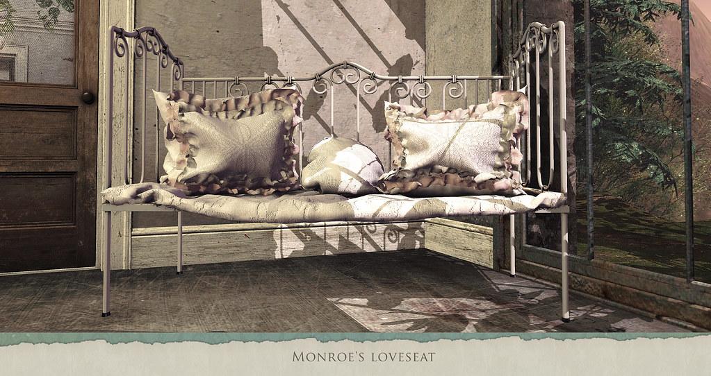 Monroe's love seat