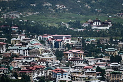 View of central Thimphu 2019-07-21 | by Chris Fynn