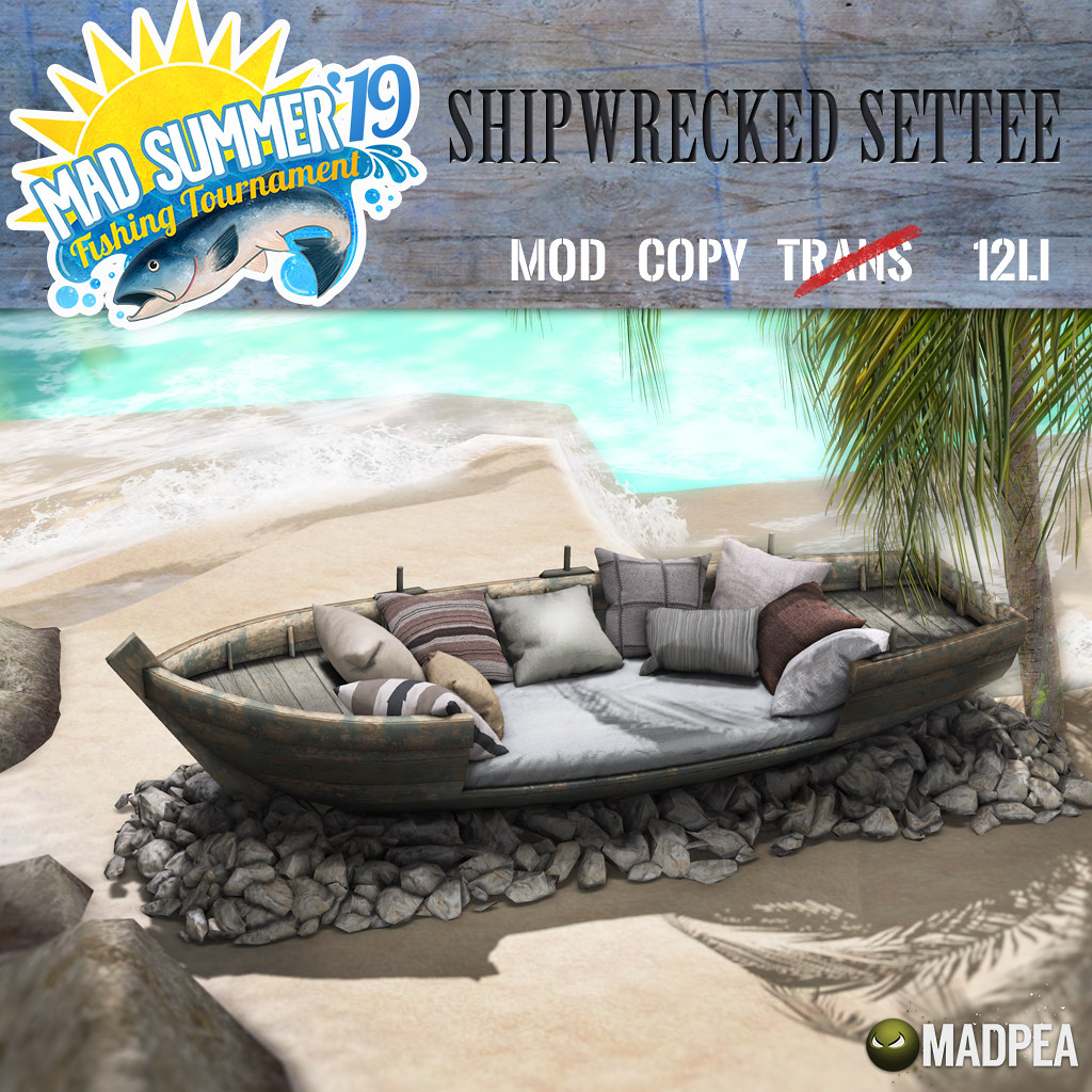 MadPea Mad Summer '19 Fishing Tournament PRIZE UNLOCK!