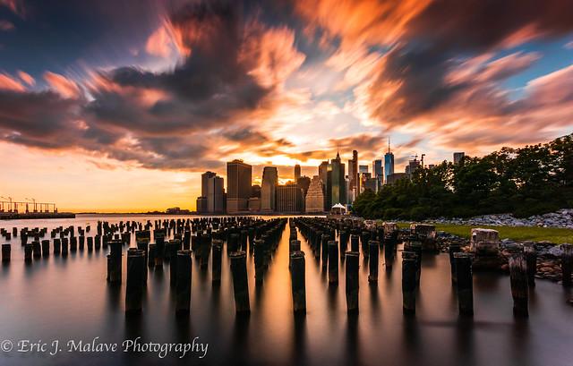 Brooklyn Bridge Park Pier 1 Sunset