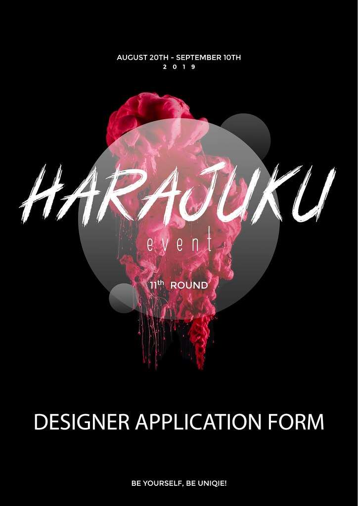 Harajuku 原宿 Event – 11th Round App