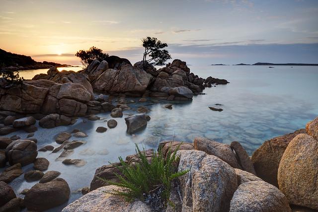 Spiaggia Capriccioli @ Sunrise