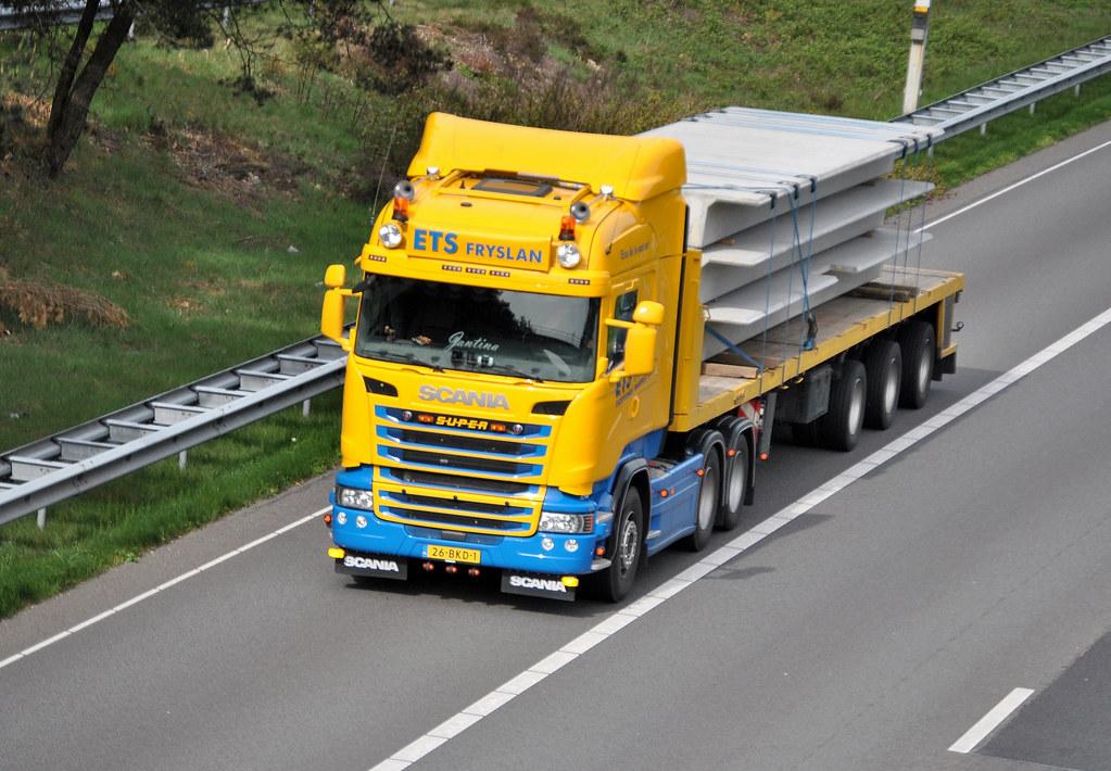Scania R450 ETS Fryslan Idskenhuizen