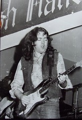 Rory Gallagher - onstage 1980s - with his Fender Strat