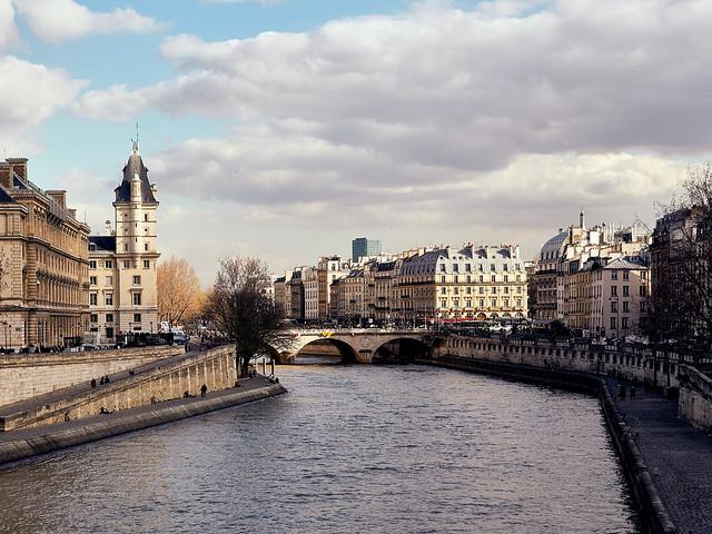 Pont au Change, Paris, France