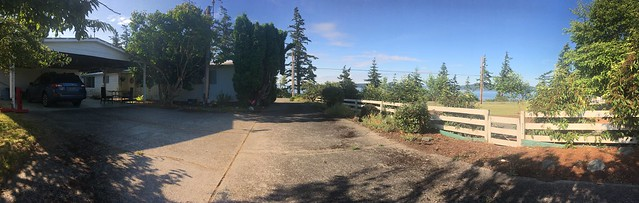 Samish Island Backyard Panorama