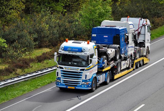 Scania G400  Joh vd Zand Waardenburg