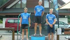 Triatlon Říčkovský Golem vyhráli Procházka a Chládková