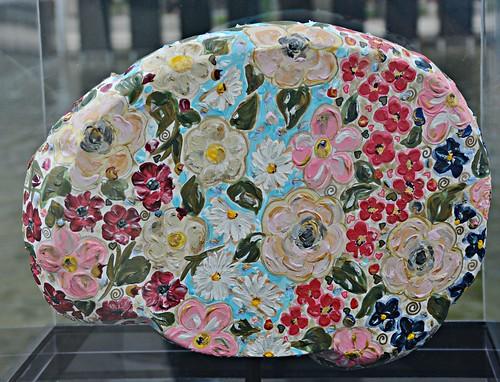 Mindfulness Sherrye by Janice Roberts, Brain Project, Nathan Phillips Square, Toronto, ON