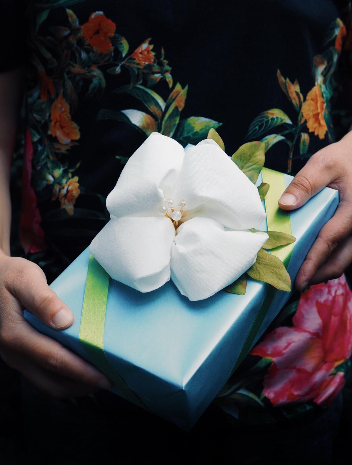 kukka-lautasliinasta