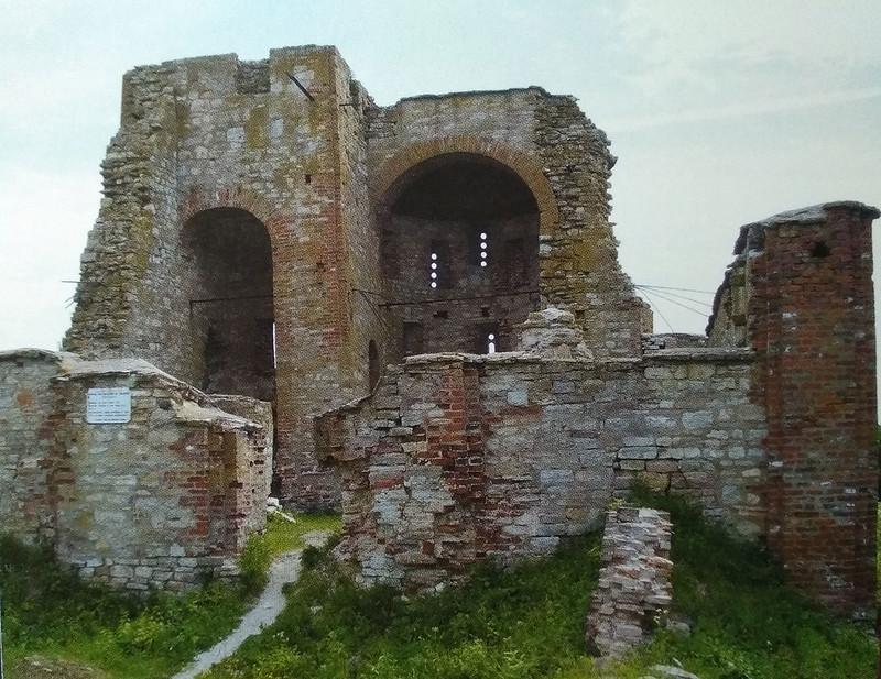 Церковь Благовещения после консервации, Рюриково городище, Великий Новгород