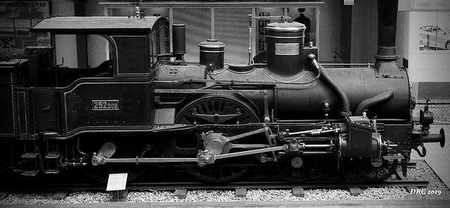 Technology Museum - locomotive