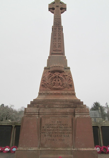 Inverness War Memorial Original Dedication