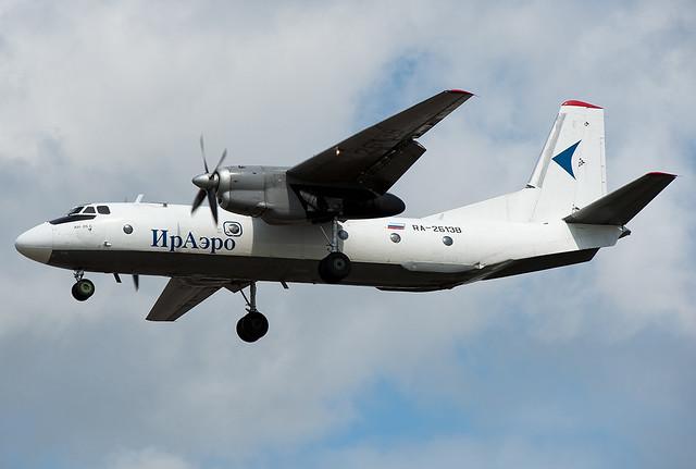 RA-26138 Iraero Antonov An-26B