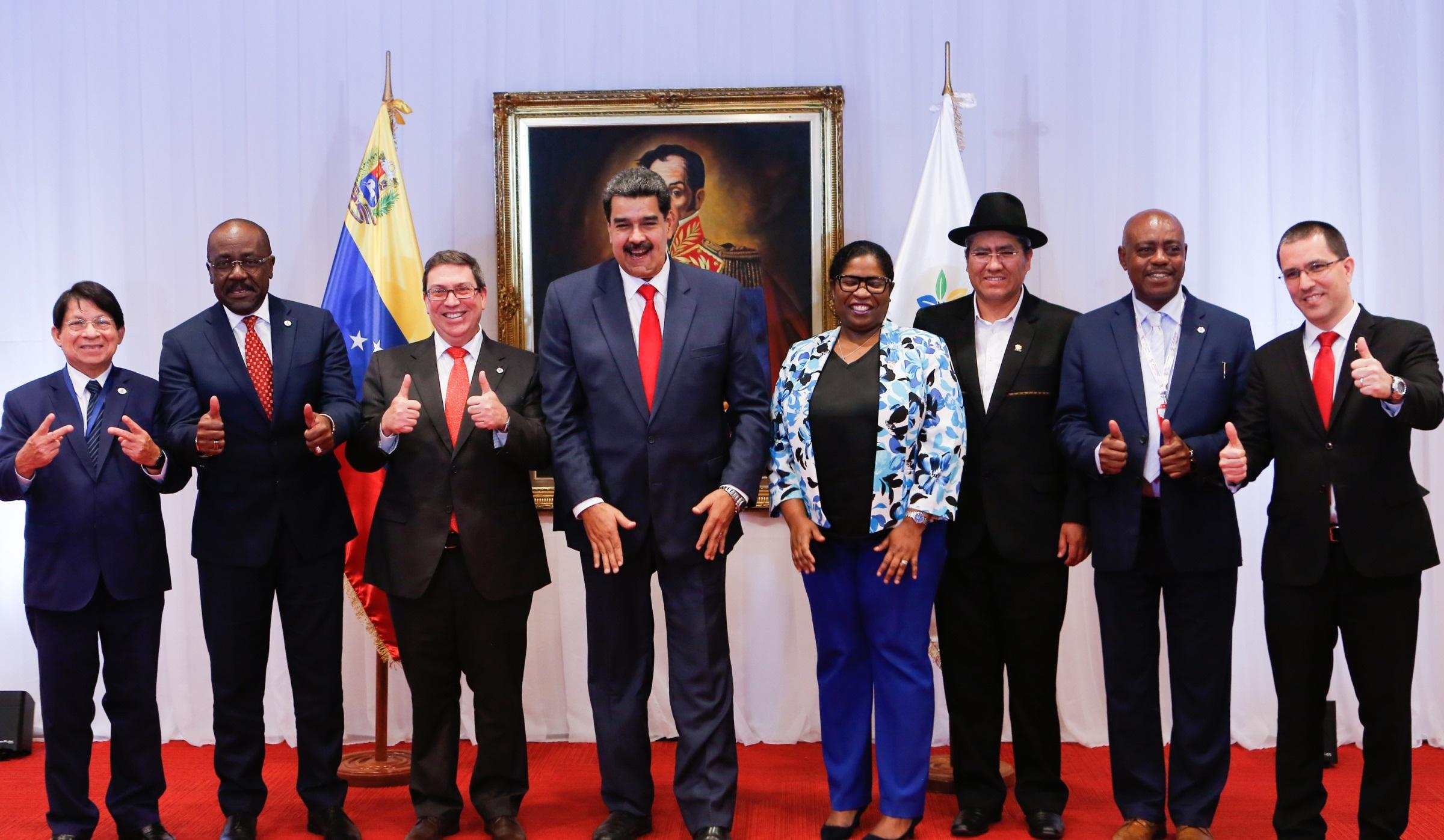 Presidente Maduro estrecha lazos de cooperación y amistad con países del ALBA