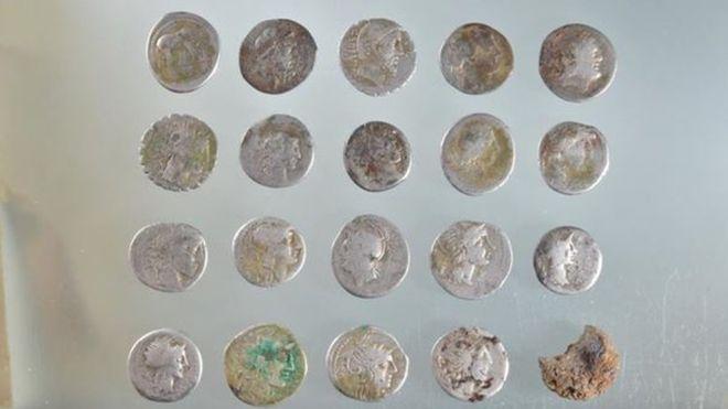 Suffolk Roman Denarii Hoard