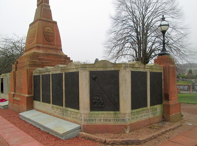 Inverness War Memorial WW2 Dedication