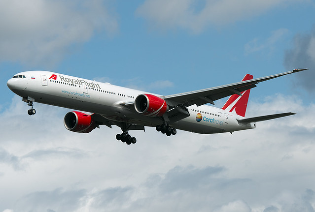 VP-BGK Royal Flight Airlines Boeing 777-31H/ER