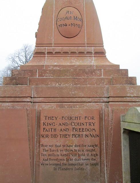 War Memorial Inverness, Third Dedication
