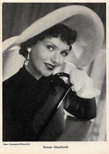 Renate Mannhardt in Der keusche Josef (1953)