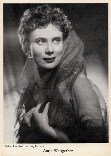 Antje Weisgerber in Die Stärkere (1953)