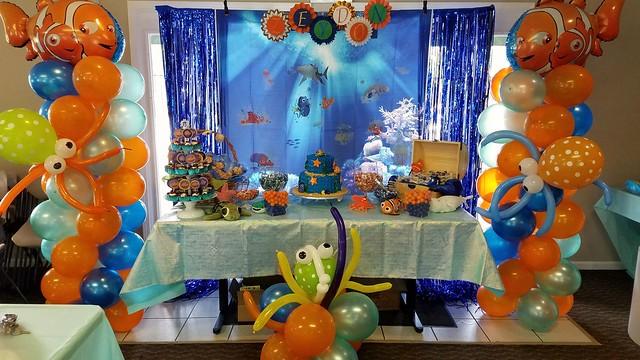 Finding Nemo baby shower Decor