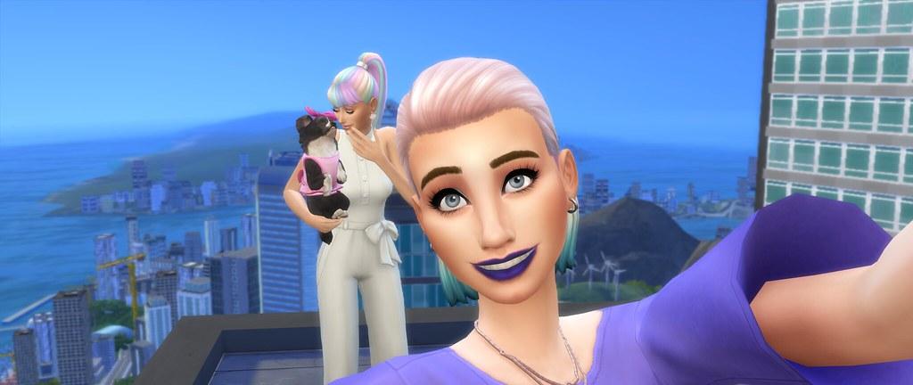 Mejorar las capturas en Los Sims 4