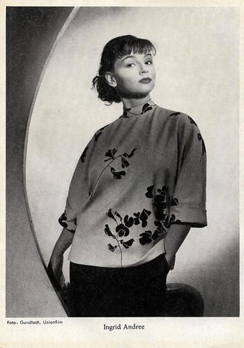 Ingrid Andree in Oh, du lieber Fridolin (1952)
