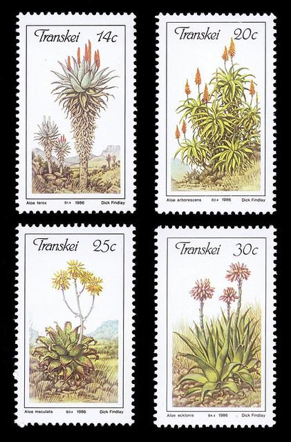 Transkei 1986 Aloes